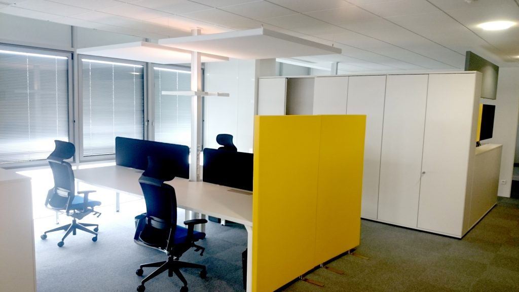 TEMPO Mobile, standing partitions